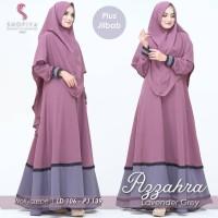 COD AZZAHRA SYARI Baju Wanita Pakaian Muslimah Dress Muslim Baju Gamis - LAVENDER