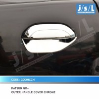 JSL Mangkok Pintu Datsun Go Outer Handle Cover Chrome CH
