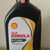 Oli Mesin Shell Helix Rimula R3 Turbo 15W-40 1 Liter Diesel Asli