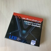 LED H11 Carbon CX50 Autovision 12V 35W 6000K lampu depan utama mobil