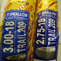 Paket Ban Luar Swallow Trail S209 Uk 275 18 & 300 18 RX KING Tubetype