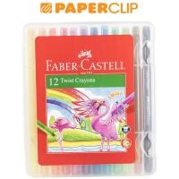 CRAYON FABER CASTELL 520612 12C TWIST