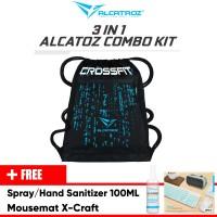 Tas Serut / Cross Fit Bag + Mousemat & Hand Spray Sanitizer 100Ml