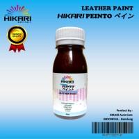 Leather Paint Cat Sepatu Tas Jaket Jok Mobil Bahan Kulit dan Sintetis - MOCCA
