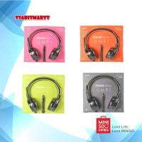 Headset Headphone Gaming Miniso Foldable Microphone
