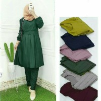 Baju Setelan Wanita Dewasa Kekinian Terbaru 2021 STELAN FASHION MUSLIM