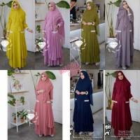 Busana Muslim Dewasa Gamis Wanita Baju Syari Terbaru Kekinian Murah