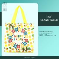 Goodie Bag Spunbond Laminasi Animal Souvenir Ulang Tahun Anak