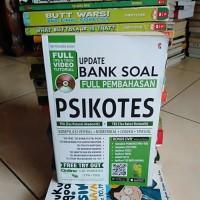 BUKU ASLI UPDATE BANK SOAL FULL PEMBAHASAN PSIKOTES TPA TBS BONUS CD
