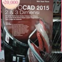ORI Autocad 2015 2 dan 3 dimensi