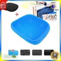 Bantal Duduk Portable Ice Pad Gel Cushion Non Slip Massage Office Chai