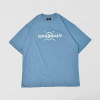 Nomadstudio X Faith Fade Bluestone Small Logo T-shirt - S