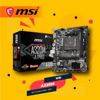 Motherboard AMD MSI A320M-A PRO (AM4, A320, DDR4)