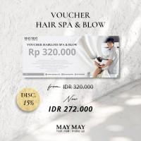 Voucher Hairloss Hair Spa Blow - May May Salon