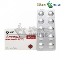 ARCOXIA 60 MG 1 BLISTER ISI 10 TABLET