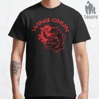 Kaos Baju wing chun kung fu dragon 255675