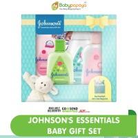 JOHNSON'S Essentials Baby Gift Set - Paket Hadiah Bayi