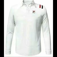 tshirt baju kaos Kerah Lengan Panjang FILa High Quality