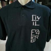 tshirt baju kaos Kerah CIVIL ENGINEER High Quality