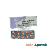 ALPENTIN 100MG 1 BLISTER ISI 10 TABLET