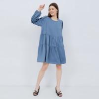 Mara Blue Denim - Baju Ibu Hamil Dan Menyusui - m