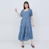 Kinana Blue Denim - Baju Ibu Hamil Dan Menyusui