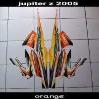 Striping Stiker Jupiter Z 2005 Orange Strip list
