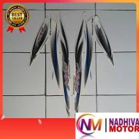 striping motor mio sporty 2007 putih