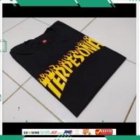 Kaos distro Terpesona viral / t-shirt custom Thraser /baju pria wanita