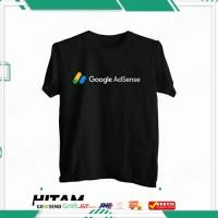 Kaos distro google Adsense / baju youtube /atasan pria wanita terlaris