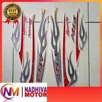 striping motor yamaha mio sporty api 2006 putih