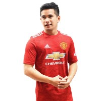 Adidas Manchester United Home Kids Jersey - Red