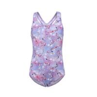 Speedo AG S120 DC 1PC Disney Frozen 2 Elsa Girl's Swimsuit - Purple