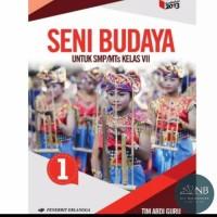 Buku SENI BUDAYA KELAS 7 ERLANGGA REVISI NB