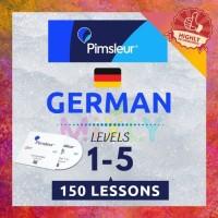 DVD Pimsleur Belajar Bahasa German / Jerman (lessons 1-150) Audio mp3