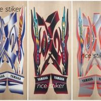 Stiker striping Jupiter Z CW 2005 - Merah