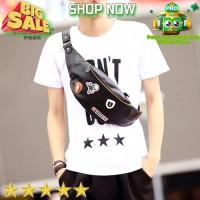 Tas Selempang / Slempang Kulit Pria Waist Bag import 227