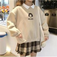 Sweater Hoodie Wanita Pria Sweter Hodie Polos Murah Kekinian KILLER