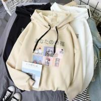 Sweater Outerwear Wanita Cewek Cewe Murah Jaket Sweeter Switer hoodie