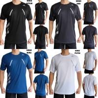 Kaos Olahraga Pria 6960 Baju Olah Raga Fitness Gym Lari Running Cowok