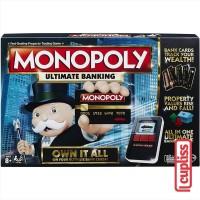 Hasbro Board Game Monopoly Ultimate Banking B6677 Permainan Papan