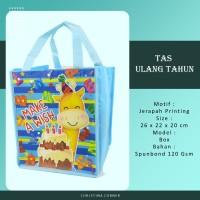 Goodie Bag Spunbond/ Tas Ulang Tahun Jahit 26 x 22 Animal Jerapah