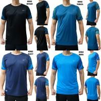 Kaos Olahraga Pria 6962 Baju Training Cowok Fitness Gym Lari Running