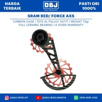 OSPW OVERSIZED PULLEY NOVA RIDE SRAM RED FORCE AXS CERAMIC BEARING