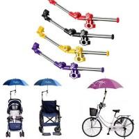 VKTECH Folded Stand Payung Multifungsi Sepeda Stroller Kereta Bayi
