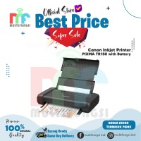 Printer Canon PIXMA TR150B Portable Nirkabel With Battery