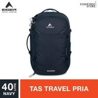 Tas Eiger X-Cyprus 40 Travel Backpack 91000 5599 Navy 40L ORIGINAL