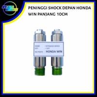 Peninggi/ sambungan shock skok shok sok depan honda win panjang 10 cm