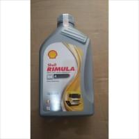 Oli Mesin Shell Helix Rimula R4X R4 15W-40 1 Liter Diesel Asli