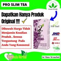 Jual pro slim tea green world original